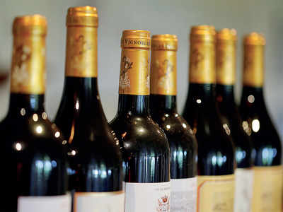 The wine never arrived, but a Rs 1.6-lakh kick did