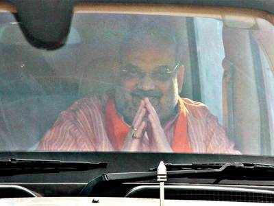Union Home Minister Amit Shah visits Gujarat