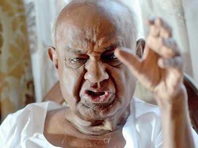 HD Deve Gowda: 'Narendra Modi is a marketing manager'