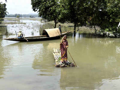 Assam finds a footing, but 7 lakh still affected