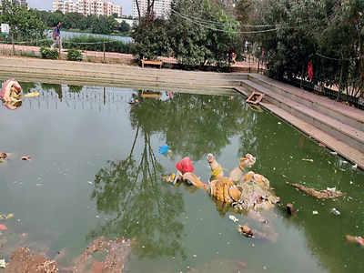 Miscreants break in, dump PoP idols at Kaikondrahalli