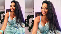 Bhojpuri actress Monalisa looks jaw-dropping in this net sari!