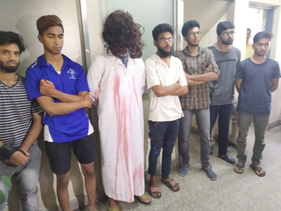 Police arrest seven after they dress up as ghosts and scare people in Yeshwanthpur