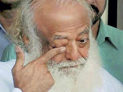 Asaram attends rape trial via video conference