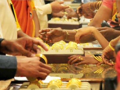 Gold prices rise on Akshaya Tritiya, silver rates go down