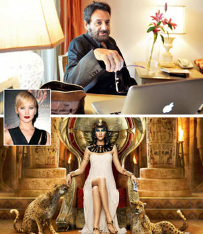 'From her statues Cleopatra looked like Jennifer Lawrence'