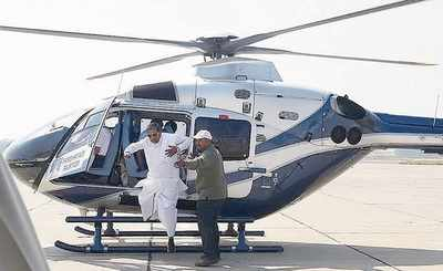 Ahead of NRI event, govt rises to traffic challenge, with choppers