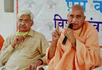 Kumbh 2021: 'Sadhus believe in participating symbolically', says Swami Avdheshanand