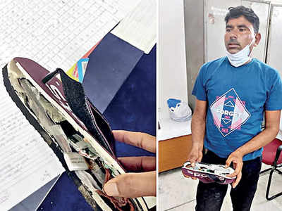 Rs 6-lakh 'bluetooth slippers' to cheat in test