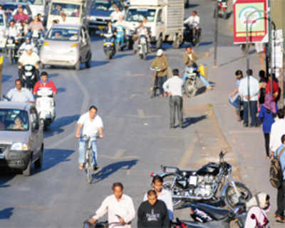 'Reduce nuisance of cyclists on main roads'