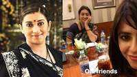 #FaceAppChallenge: Smriti Irani takes a fun jibe at bestie and 'Kyunki' producer Ekta Kapoor