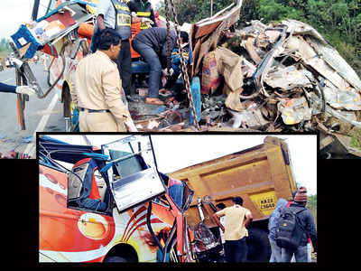 13 killed in road accident en route Goa from K'taka
