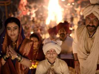 Tanhaji: The Unsung Warrior: Ajay Devgn and Kajol's chemistry is back on-screen with Maay Bhavani