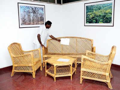 Take invasive lantana and turn it into furniture