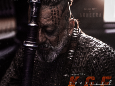 KGF Chapter 2: Sanjay Dutt drops his first look as Adheera on his birthday