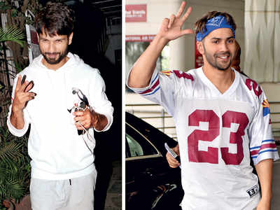 Varun Dhawan replaces Shahid Kapoor as a brand ambassador for a fitness product