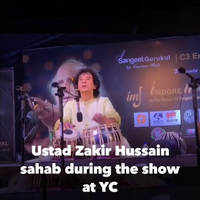 Zakir Hussain in Indore
