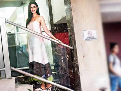 Spotted: Kriti Sanon in Andheri