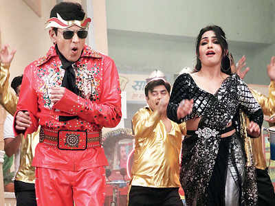 Disco mania on the sets of Bhabhiji Ghar Par Hain
