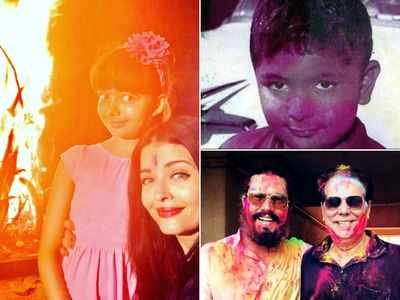 Bollywood celebs pour in Holi wishes
