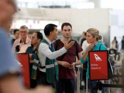 Hong Kong protests: Airport suspends flight check-in services
