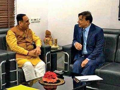ArcelorMittal's Lakshmi Mittal holds meeting with CM Vijay Rupani
