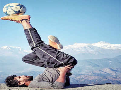 Tejas R heads to France to represent India at the Street Football World Festival