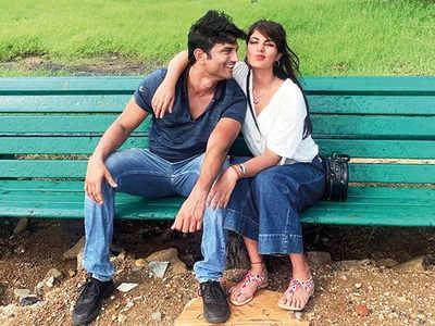 Rhea Chakraborty and Sushant Singh Rajput love-banter takes internet by storm