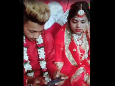 Fake or Real? Groom can't stop playing PUBG at his own wedding, video goes viral