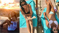 Cricket commentator Karishma Kotak's drool-worthy beachside pictures