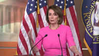 Nancy Pelosi expresses concern over Donald Trump's well-being