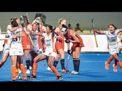 Olympic Qualifier:  Indian women maul USA 5-1 in first leg