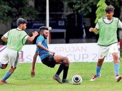 Shubham, Akash net three goals in Indira and SP College win