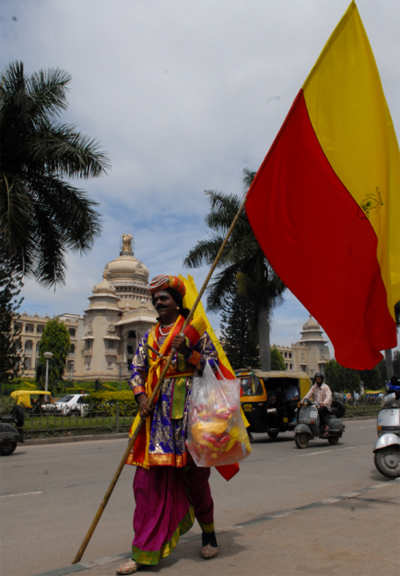 Decoding Kannada flag