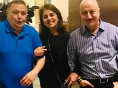 Anupam Kher pens emotional note after meeting Neetu Kapoor without Rishi Kapoor: Our shared tears made bond of those moments stronger