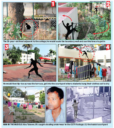 Here's how the Bengaluru underwear thief who struck Maharani college women's hostel was nabbed