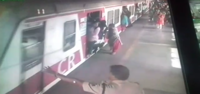 Mumbai: RPF constable saves two women being dragged by train at Dadar station