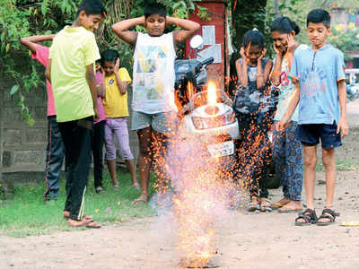 Was this Diwali a silent one compared to earlier years?