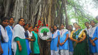 Raksha Bandhan: Students tie rakhi to 132-year-old banyan tree to raise environmental awareness in Visakhapatnam