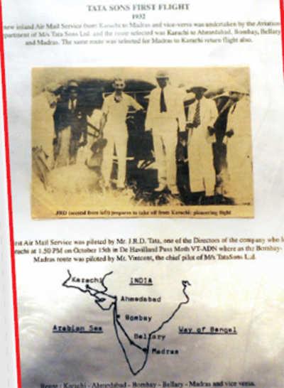 Mining through Bellary's aviation history