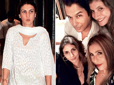 Karan Johar, Shweta Bachchan Nanda and Vikram Phadnis among others attend Tanya Dubash's birthday