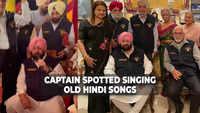 Capt Amarinder turns 'singer' for NDA batchmates