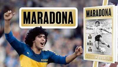 'Maradona was unbelievable, he was way ahead of this time'