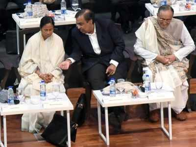 At CM Mamata Banerjee's business summit, Mukesh Ambani calls West Bengal, 'Best Bengal'