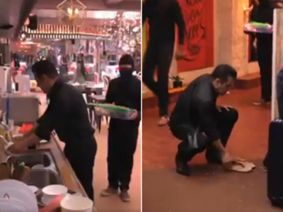 Bigg Boss 13: Salman Khan washes utensils, cleans toilet as housemates refuse to work
