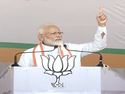 Kashmir, Ladakh not just piece of land for us: PM Modi hits out at Congress, NCP in Jalgaon