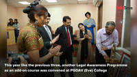 PGDAV College conducts Legal Awareness Programme