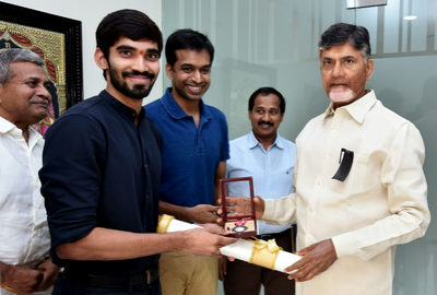 Andhra Pradesh appoints shuttler Kidambi Srikanth as Deputy Collector
