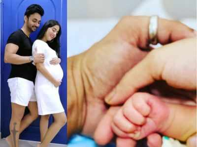 Here's what Amrita Rao and RJ Anmol named their baby boy