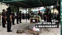 Udhampur chopper crash: Major Anuj Rajput cremated with full military honours